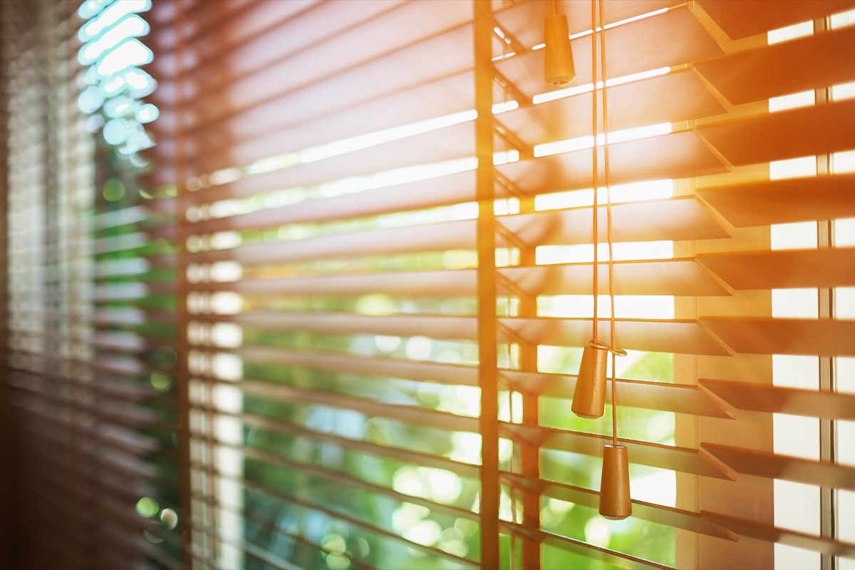 open blinds, easy home tips
