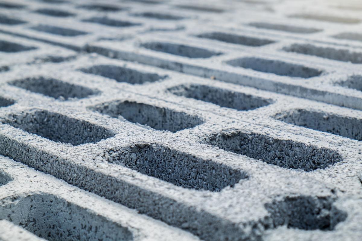 concrete blocks, weird state record