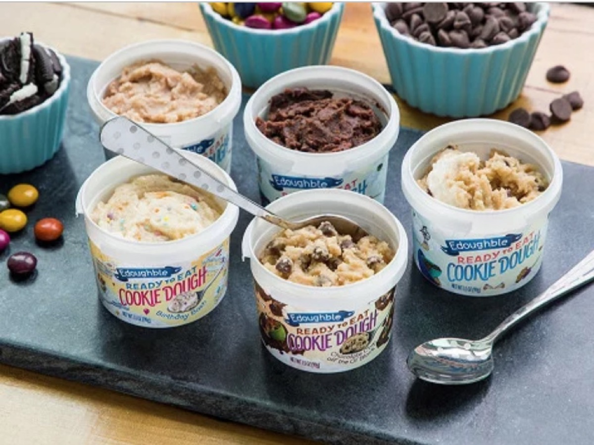 pots of edible cookie dough, best gifts for girlfriend
