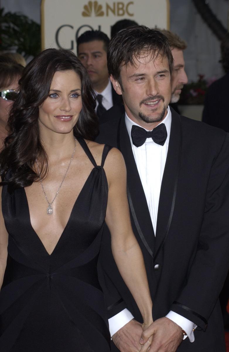 courtney cox, david arquette, celebrity exes