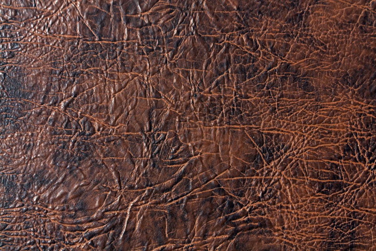 Cracking and Discolored Brown Leather Ways You Ruin Clothing