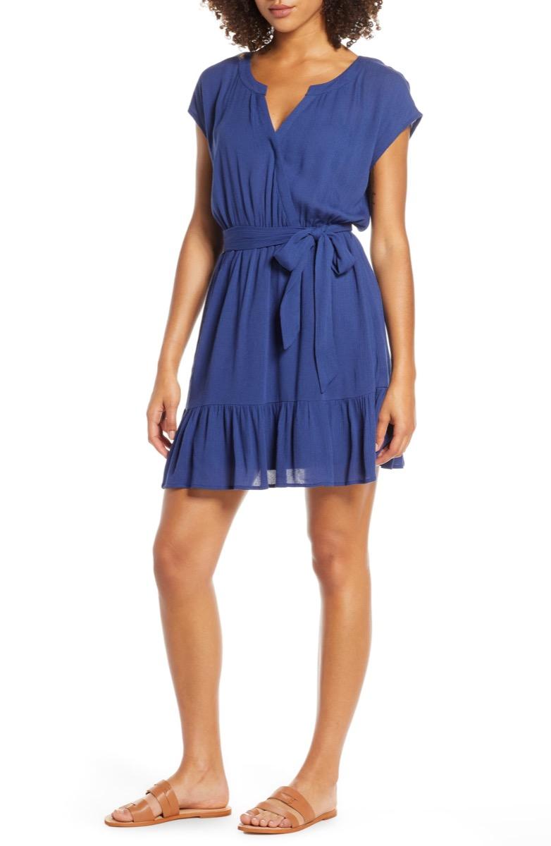 blue mini dress, Nordstrom anniversary sale