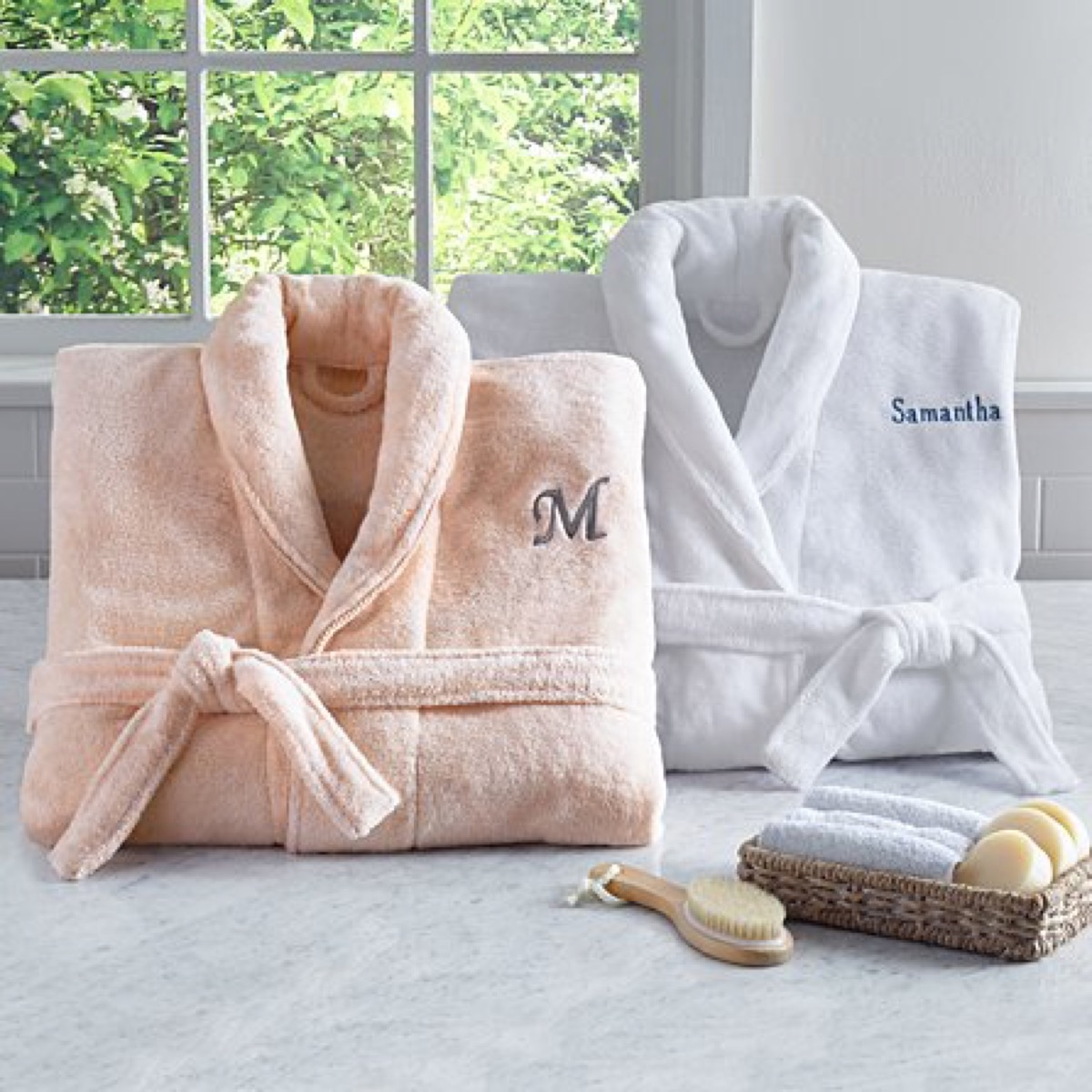 personalized robe, best friend gifts