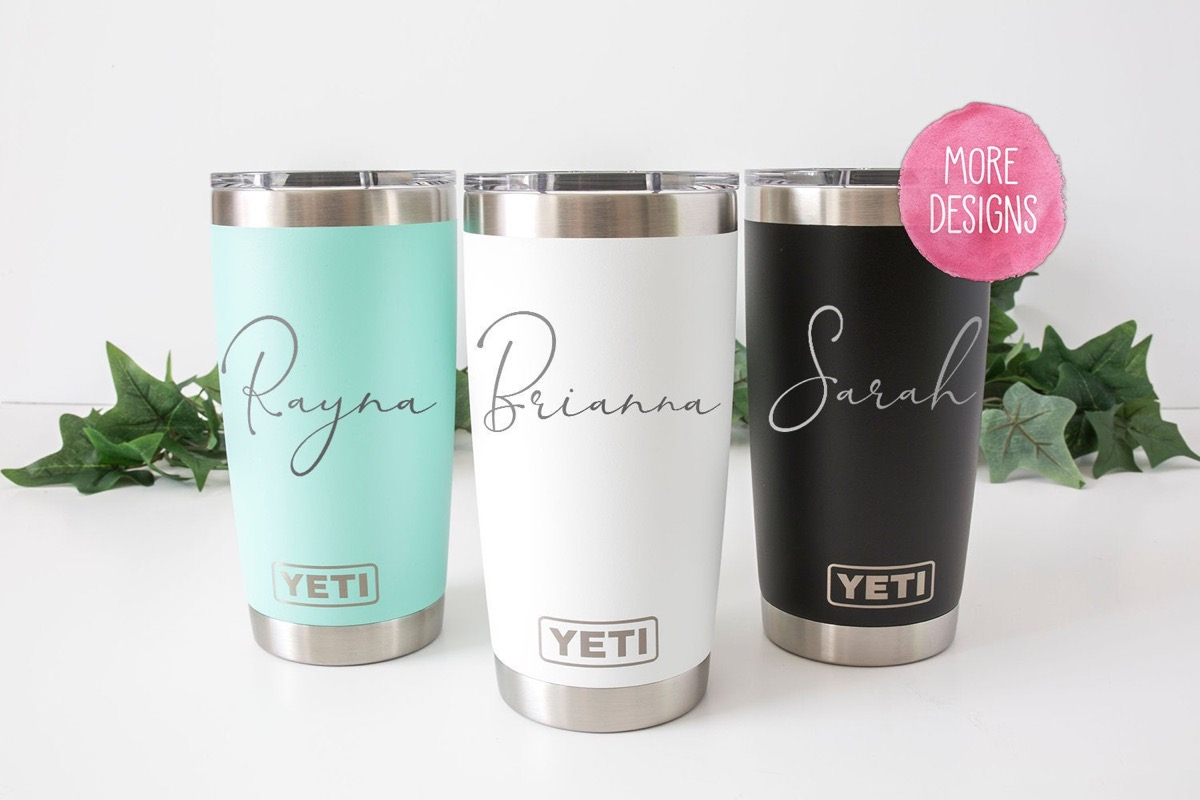 customized drink tumbler, best friend gifts