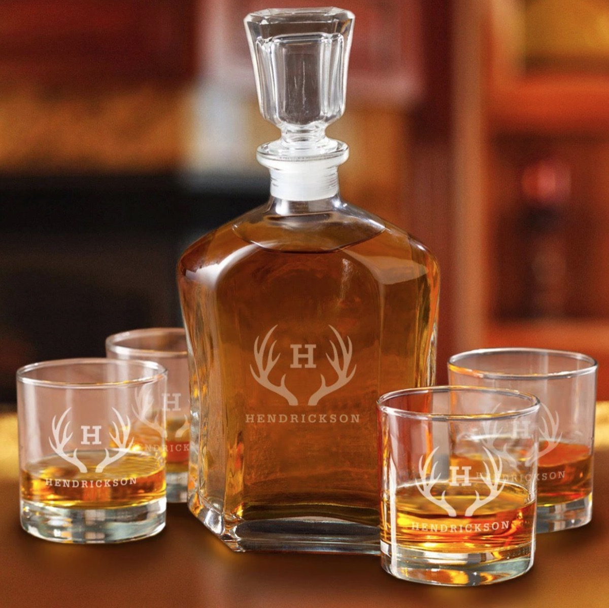personalized decanter, best friend gifts