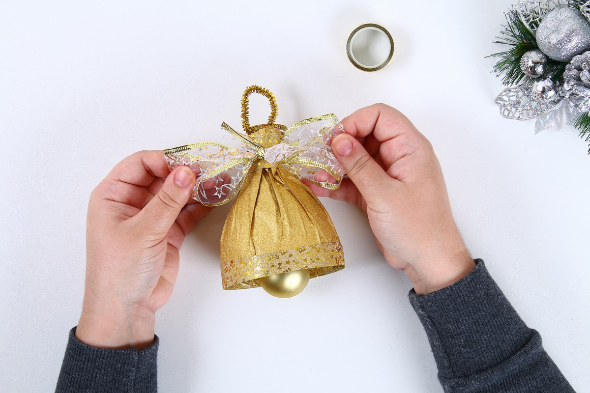 DIY Christmas Bell Water Bottle Second Uses