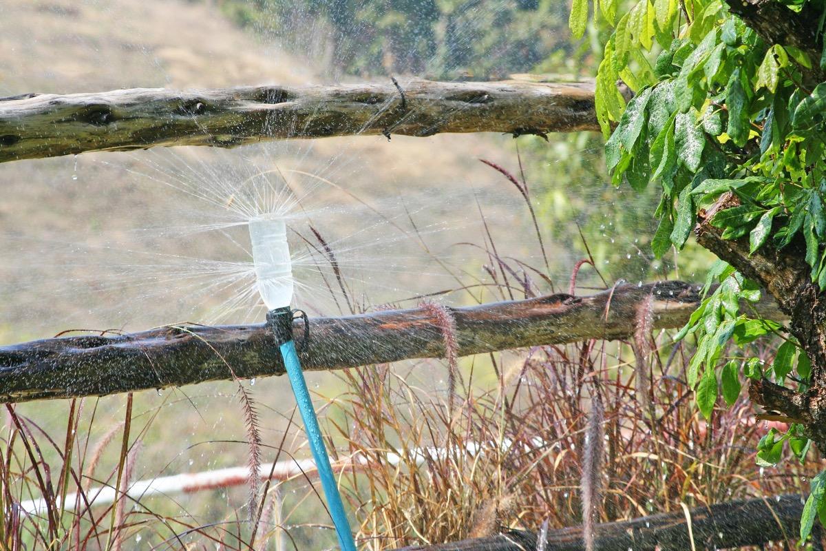 DIY Sprinkler Water Bottle Second Uses