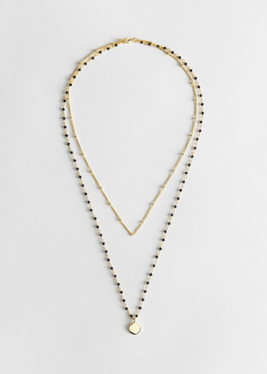 necklace with two chains, best gifts for girlfriend
