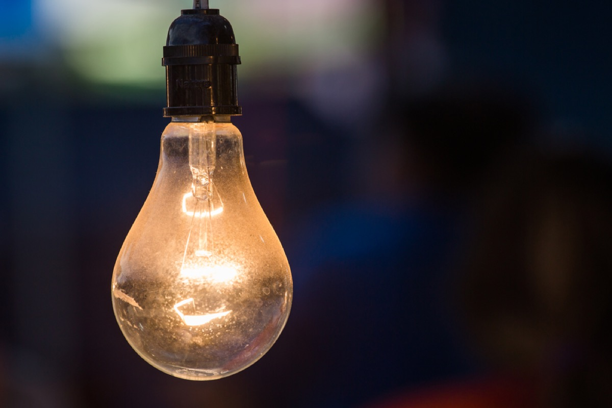 dusty light bulb, second uses for cleaning products