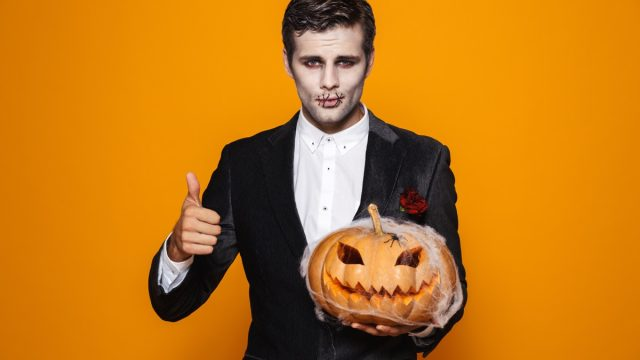 easy mens halloween costume jack skellington