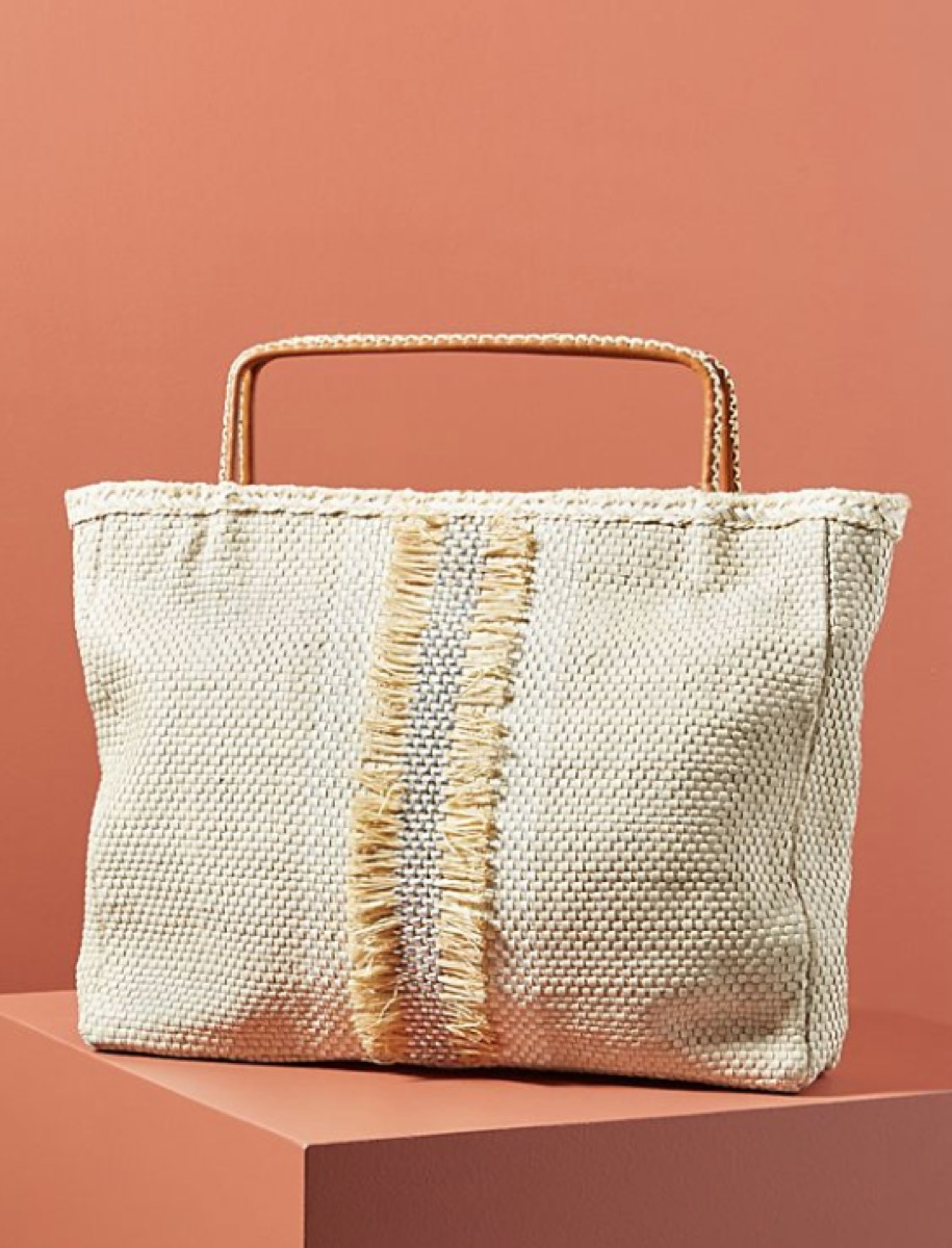 woven tote, luxury beach bags