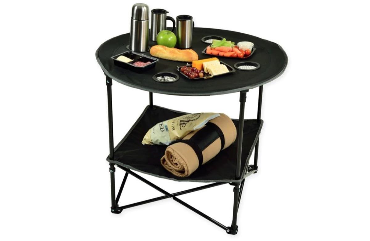 portable picnic table, picnic essentials