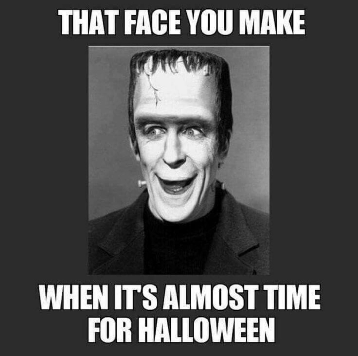 funny halloween meme frankenstien