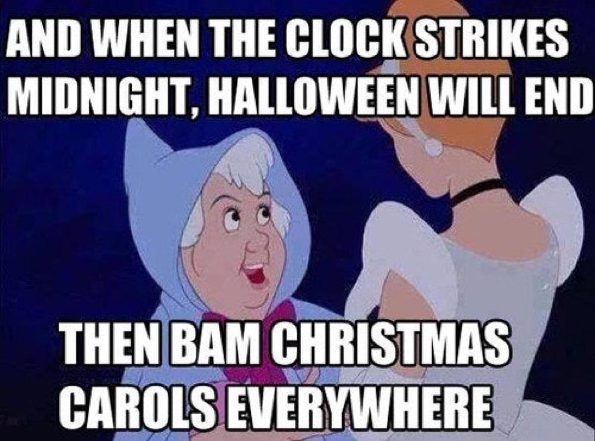 funny halloween meme cinderella
