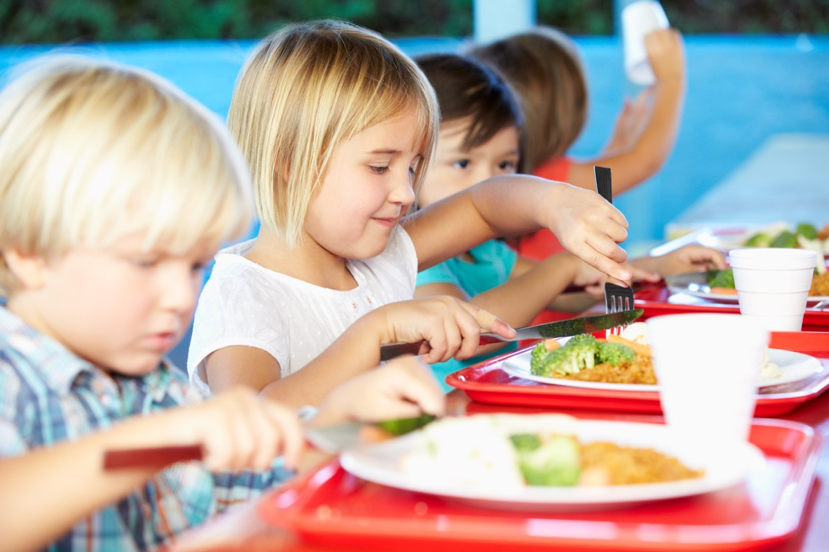 Healthy Cafeteria Food Ways Going Back to School is Different