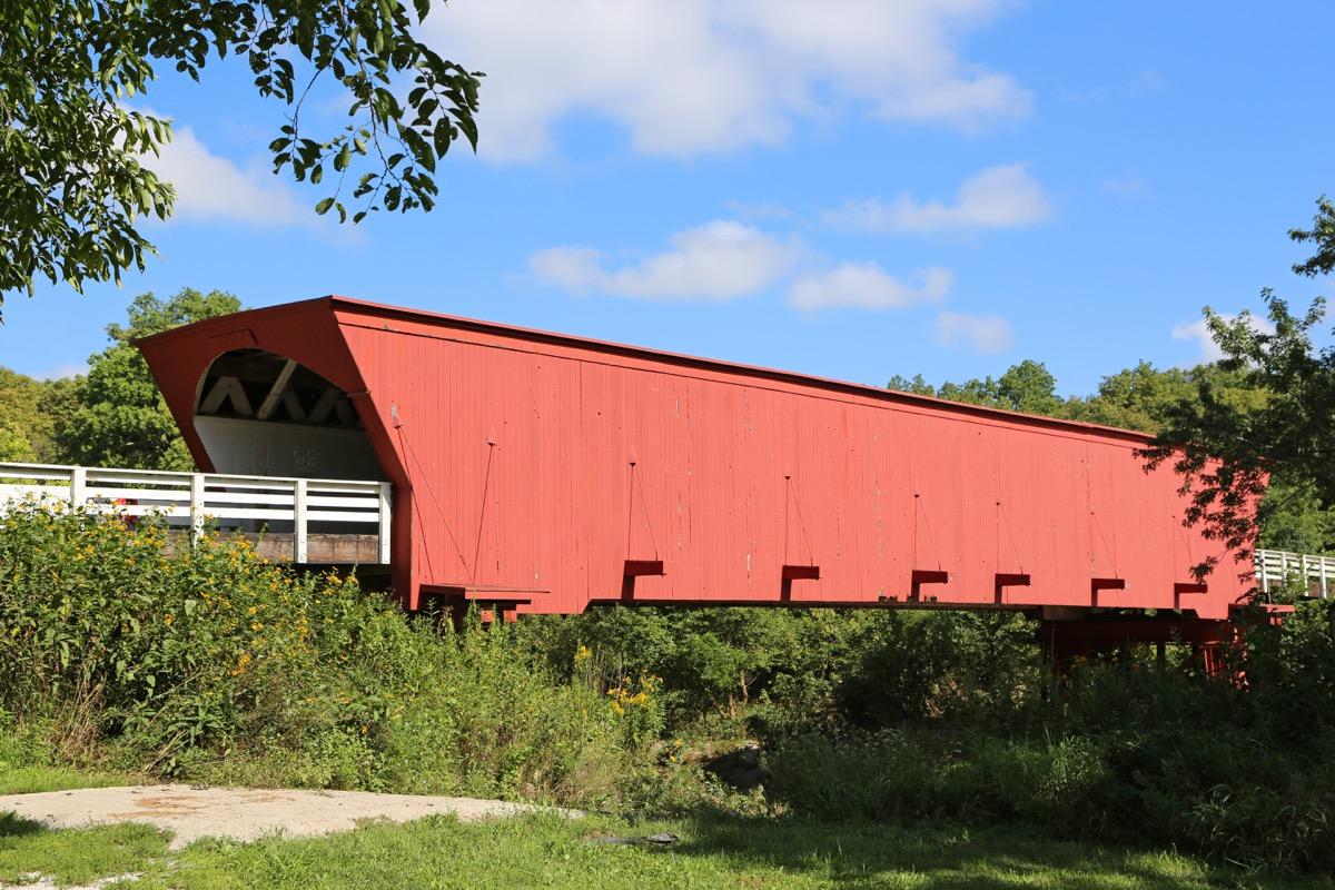 covered bridge in Iowa