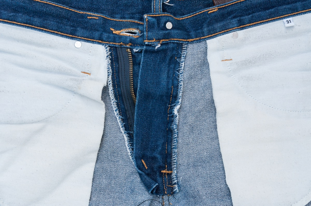 Jeans Flipped Inside Out