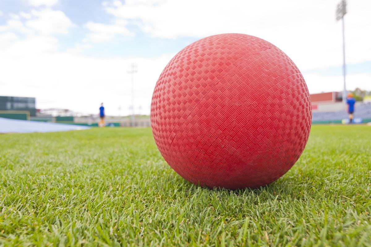 kickball on grass, weird state records