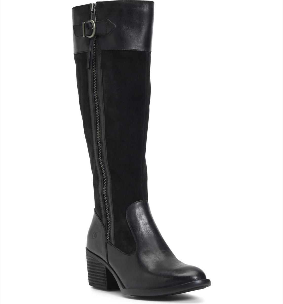 black knee high boots, Nordstrom anniversary sale