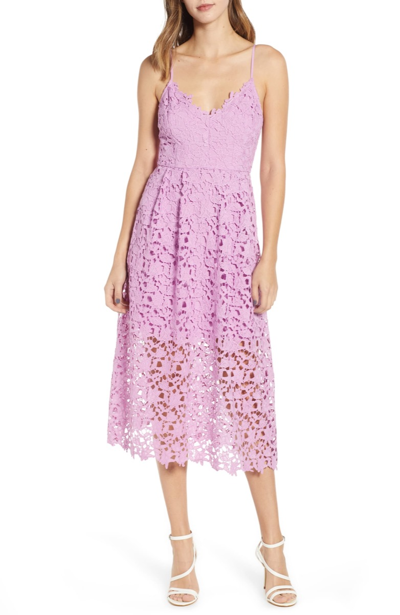 pink lace dress, Nordstrom anniversary sale