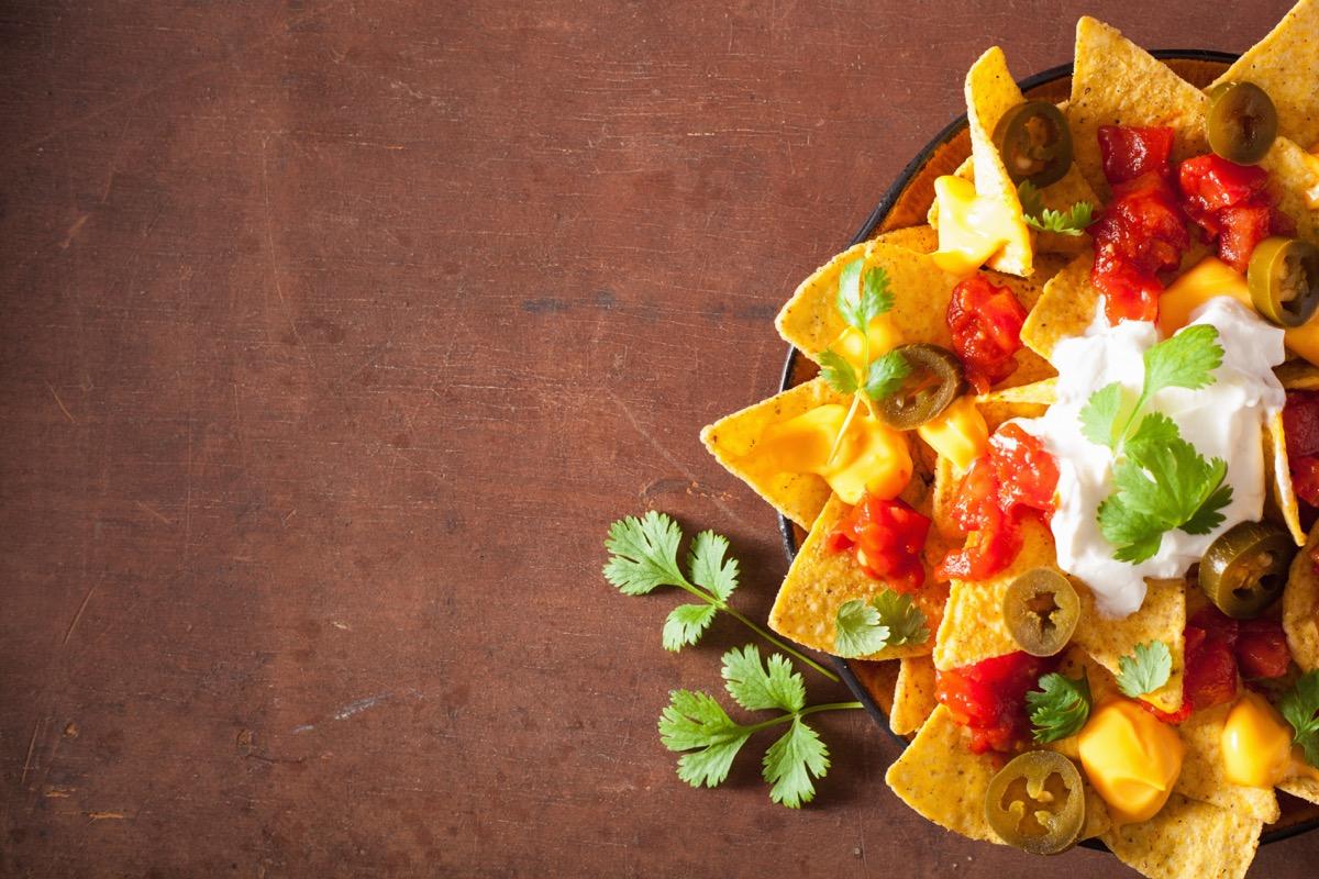 plate of nachos, weird state records