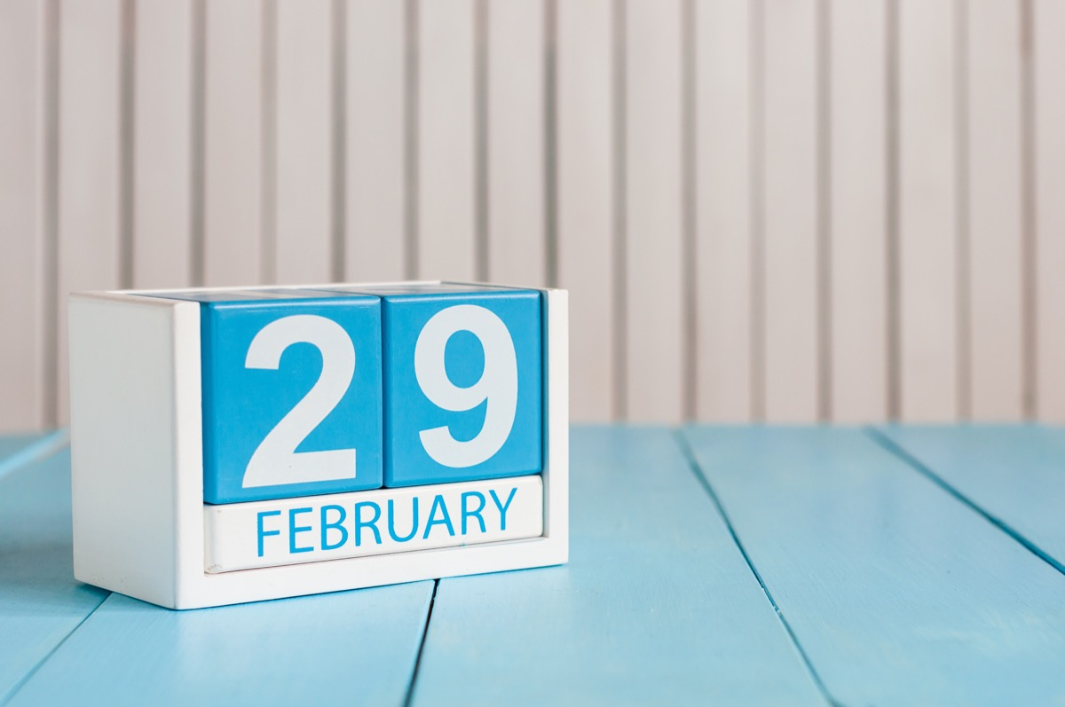leap day leap year date february 29