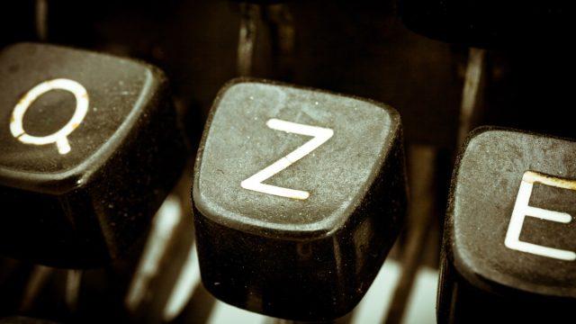 Letter Z on a Keyboard Why Z is Pronounced Zee