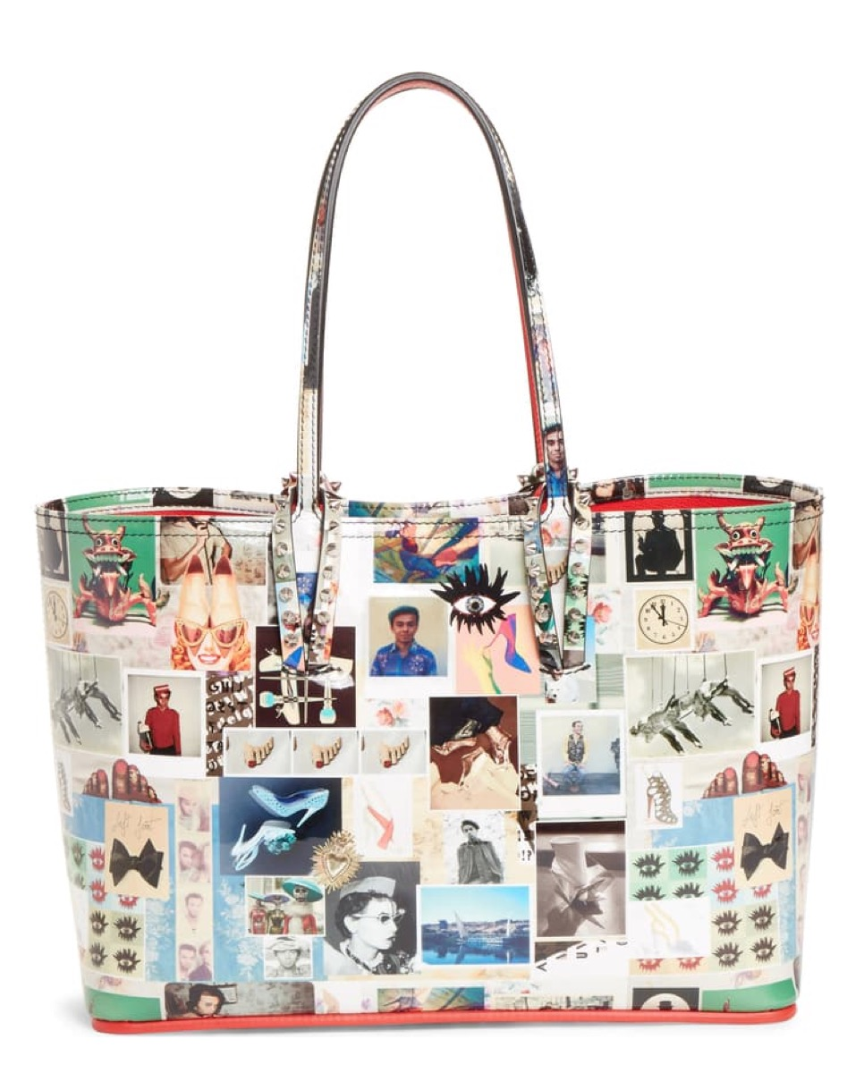 tote bag with photo print, luxury beach bags