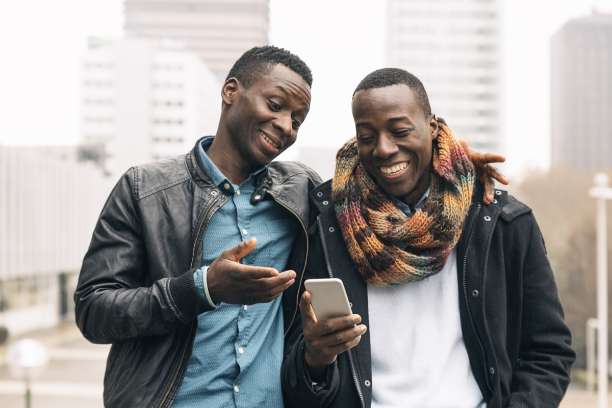 male friends talking, ways to feel amazing