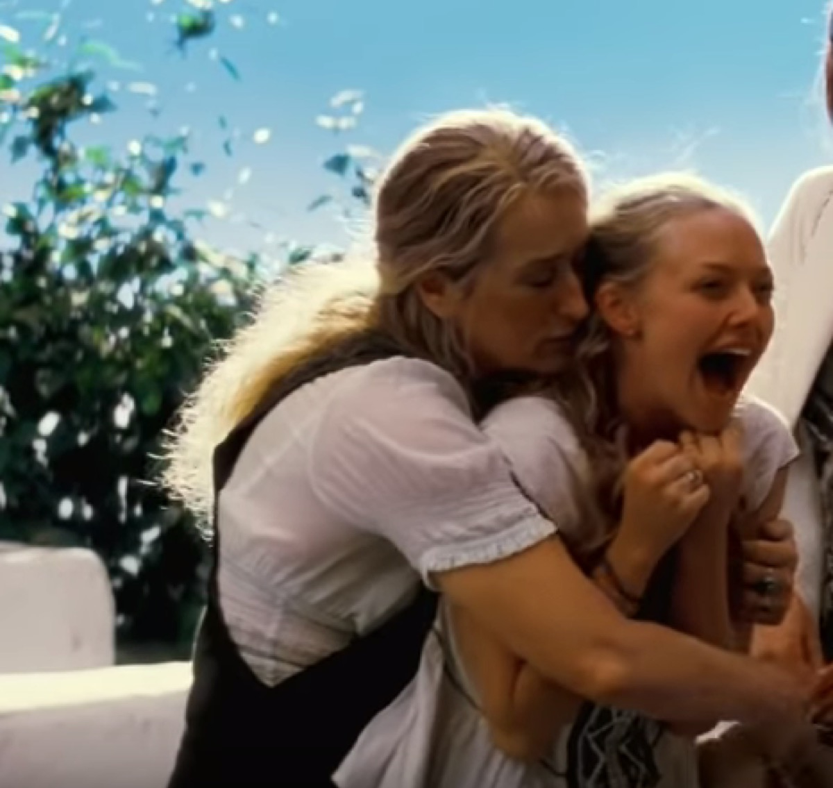 Streep and Seyfried, best romance movies on netflix