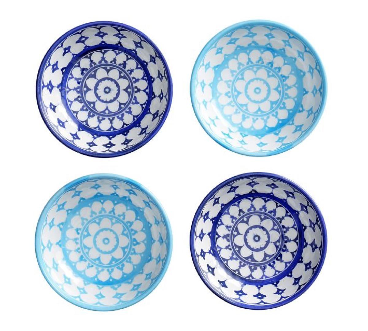 melamine dipping bowls, picnic essentials