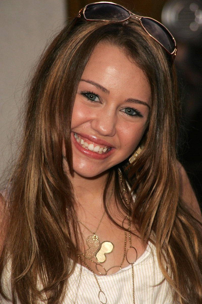 miley cyrus then
