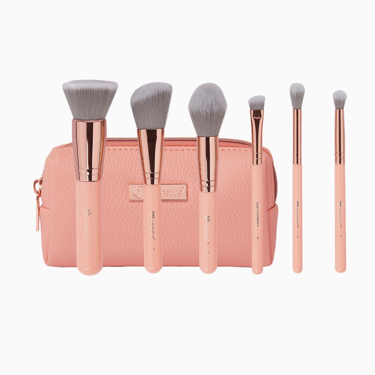 Mini Makeup Brush Set Travel Accessories