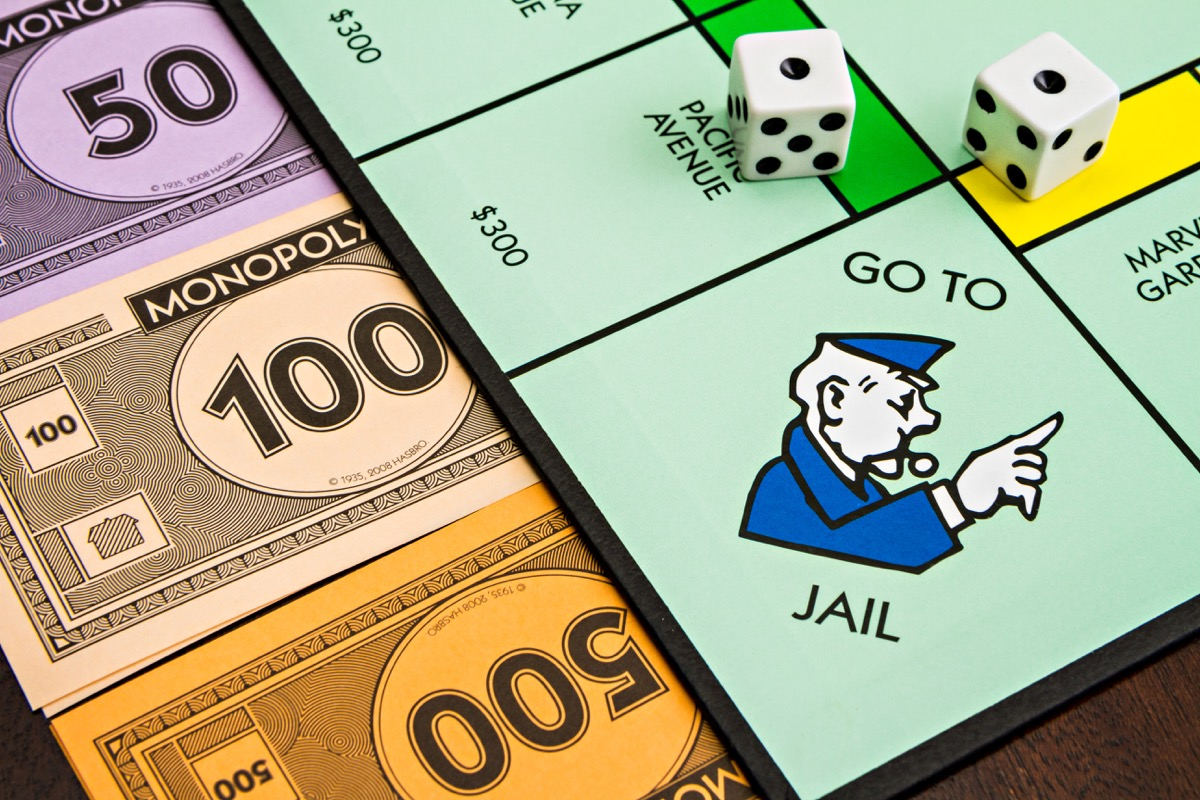 monopoly police officer