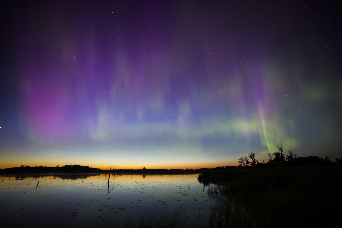 Northern Lights in Minnesota.