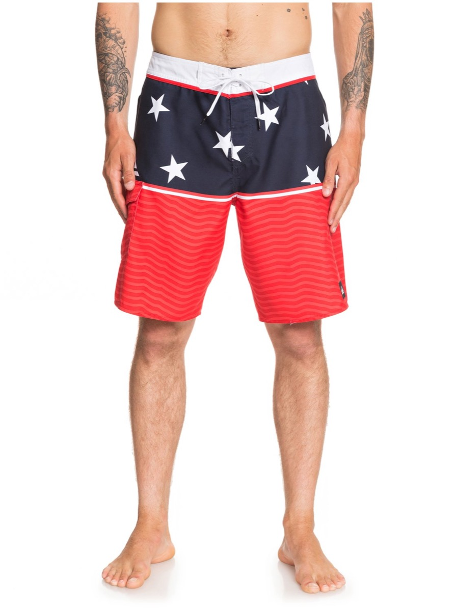 stars and stripes trunks, cheap swimsuits