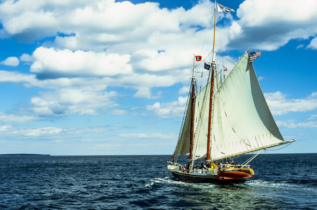 penobscot windjammer sailing Maine