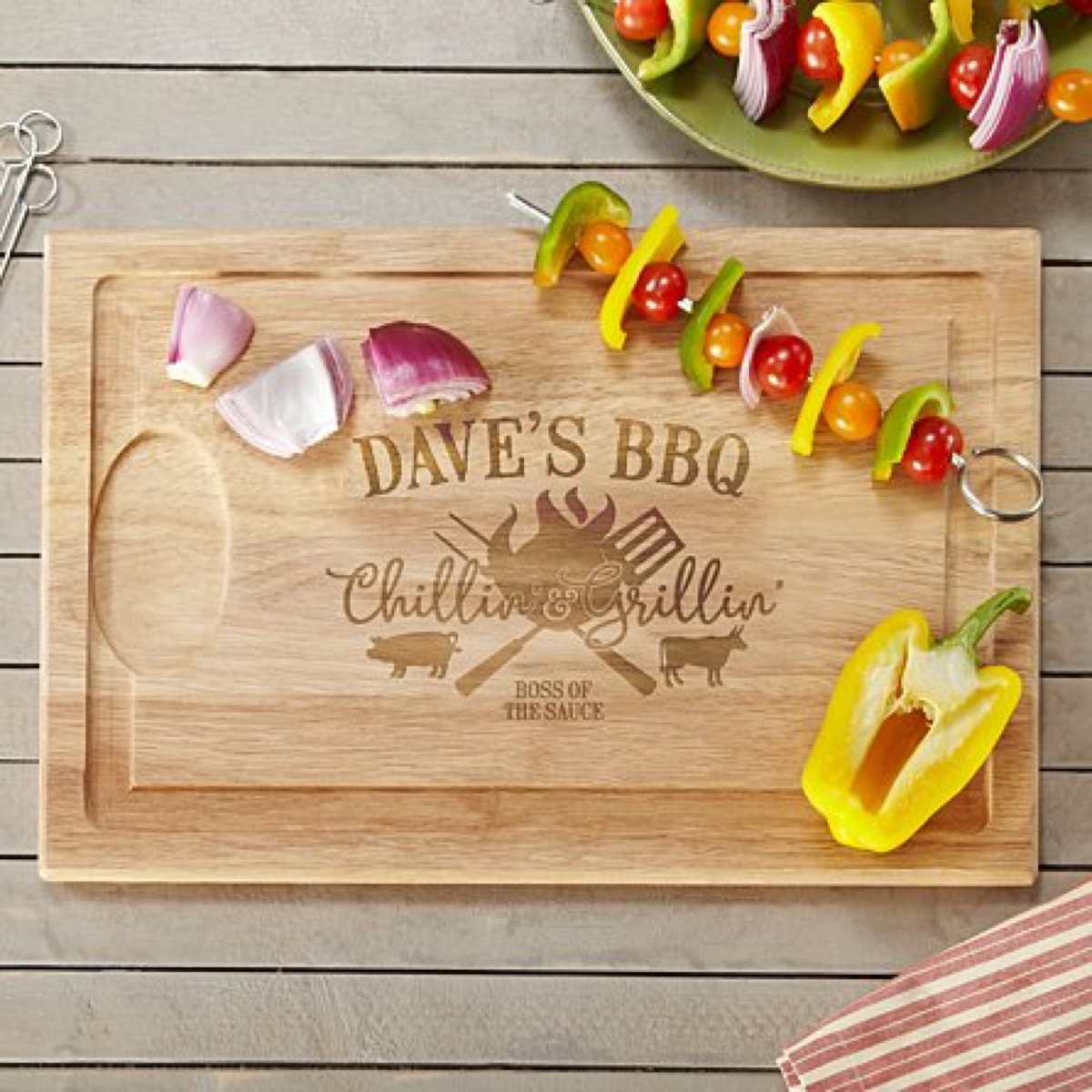customized wooden cutting board, best friend gifts