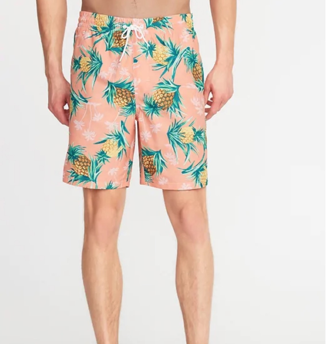 pineapple print swim trunks, cheap swimsuits