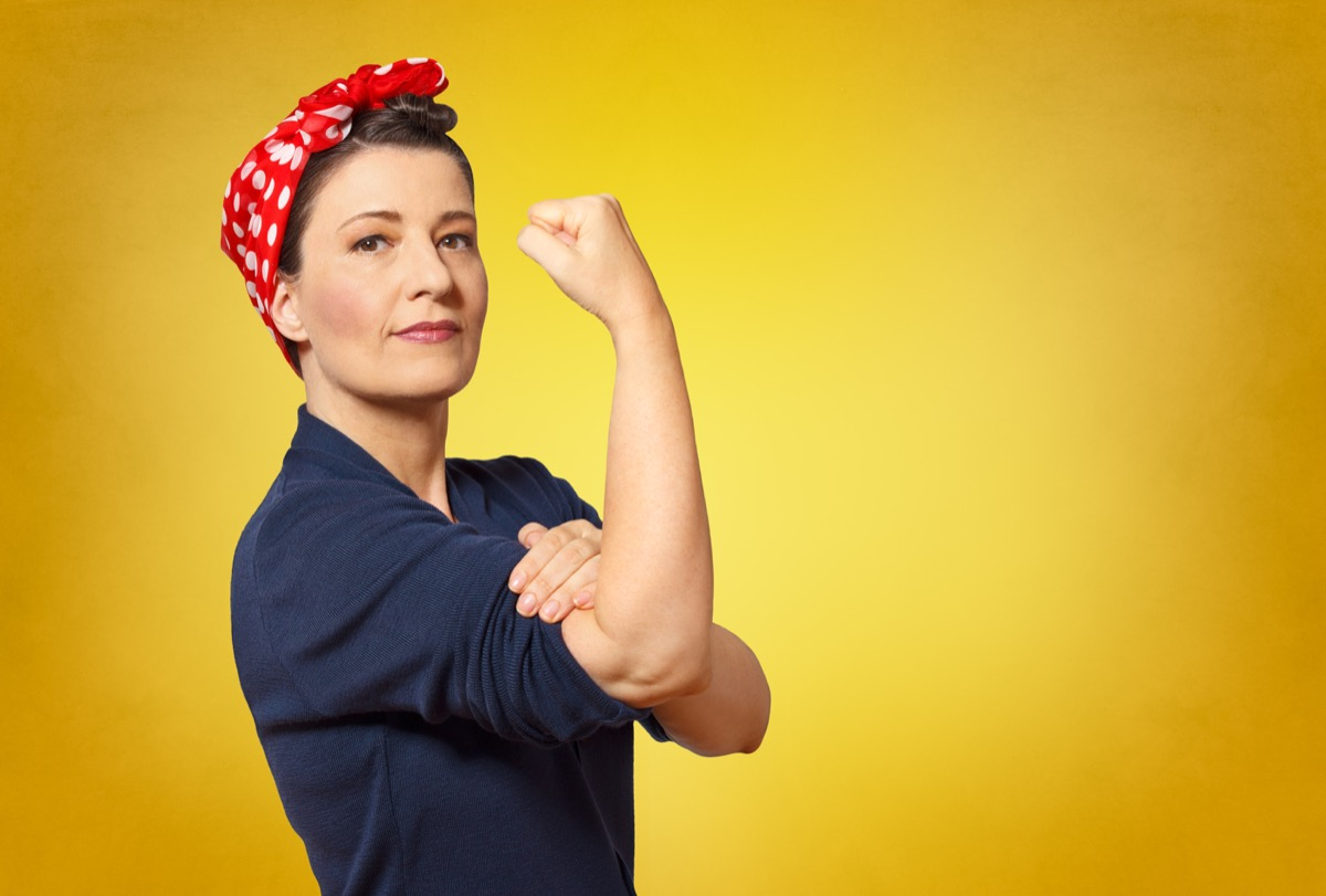 rosie the riveter impersonator, state world records