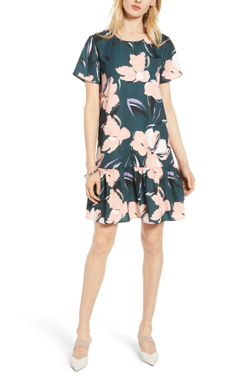 floral ruffle dress, Nordstrom anniversary sale