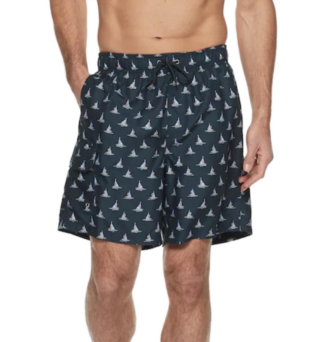 sailboat swim trunks, cheap swimsuits
