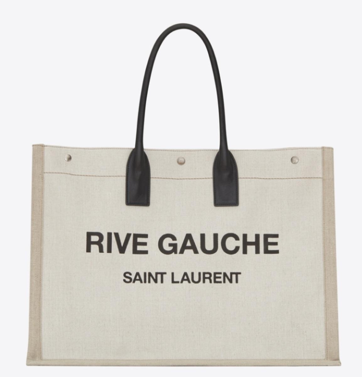 rive gauche tote, luxury beach bags