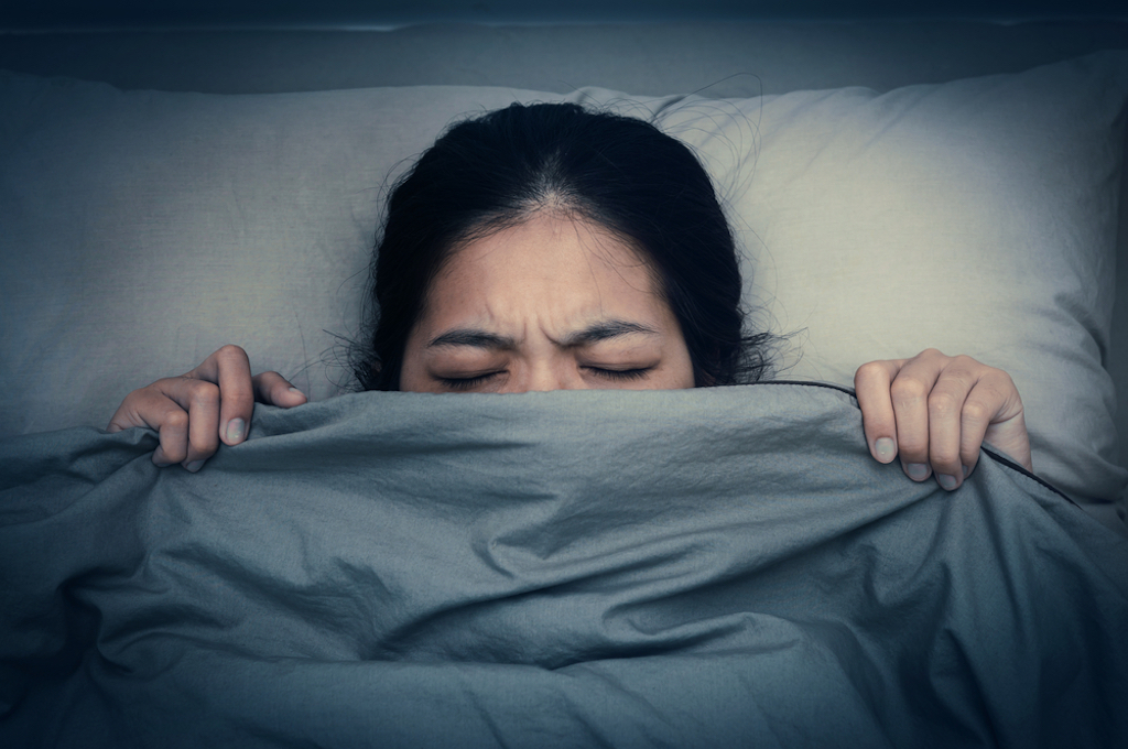 why you can't scream in your sleep