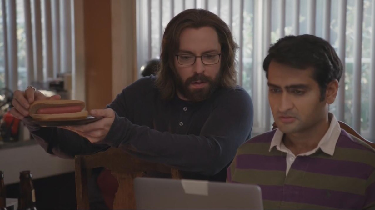 martin starr and kumail nanjiani in silicon valley