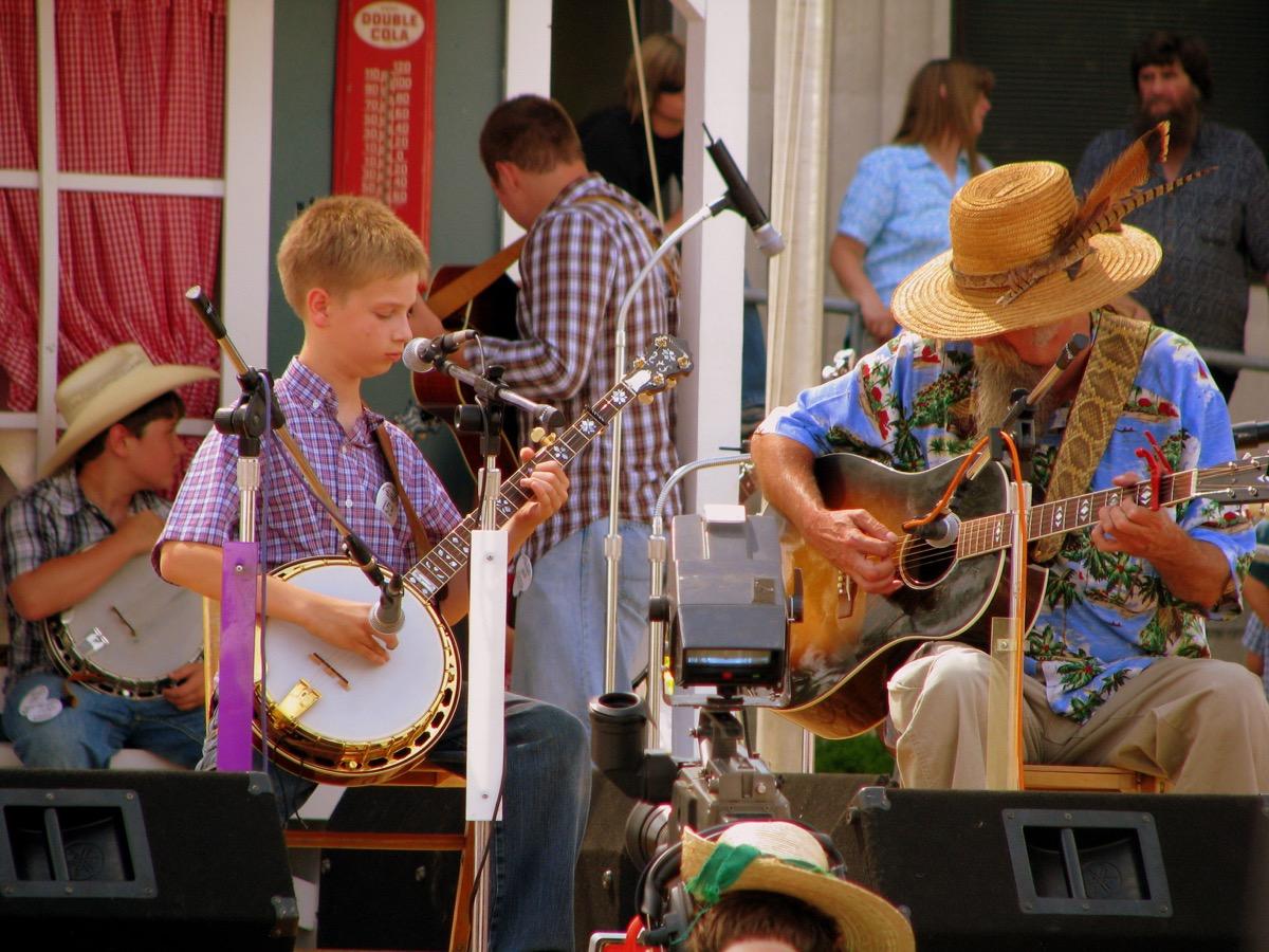 music festival in Smithville Tennessee