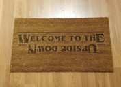 welcome to the upside down welcome mat