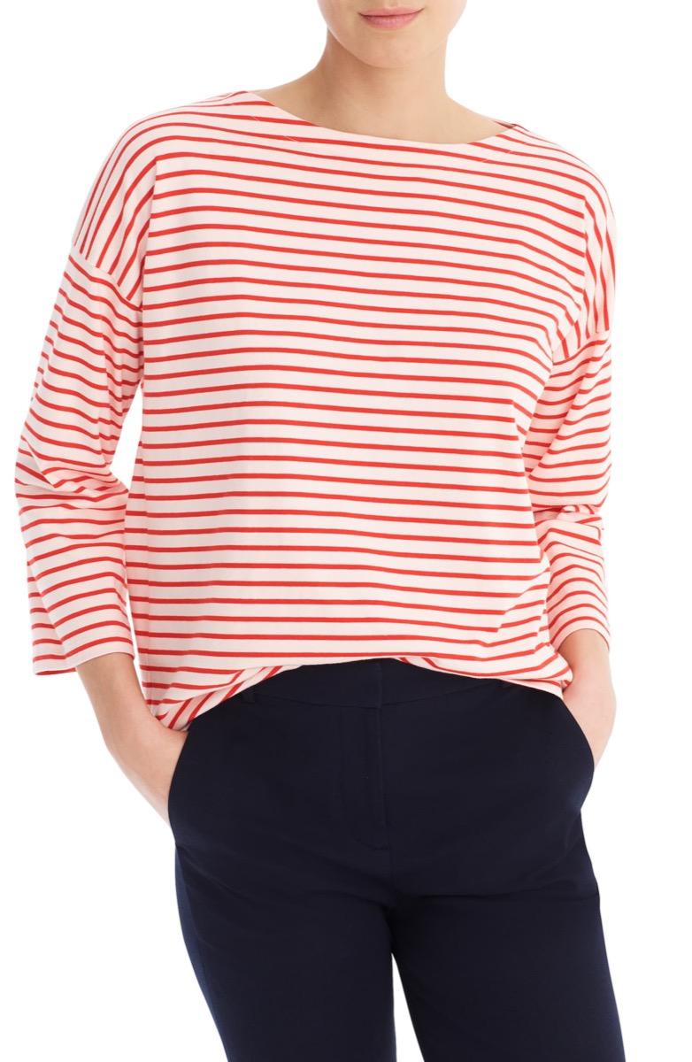 striped t-shirt, Nordstrom anniversary sale