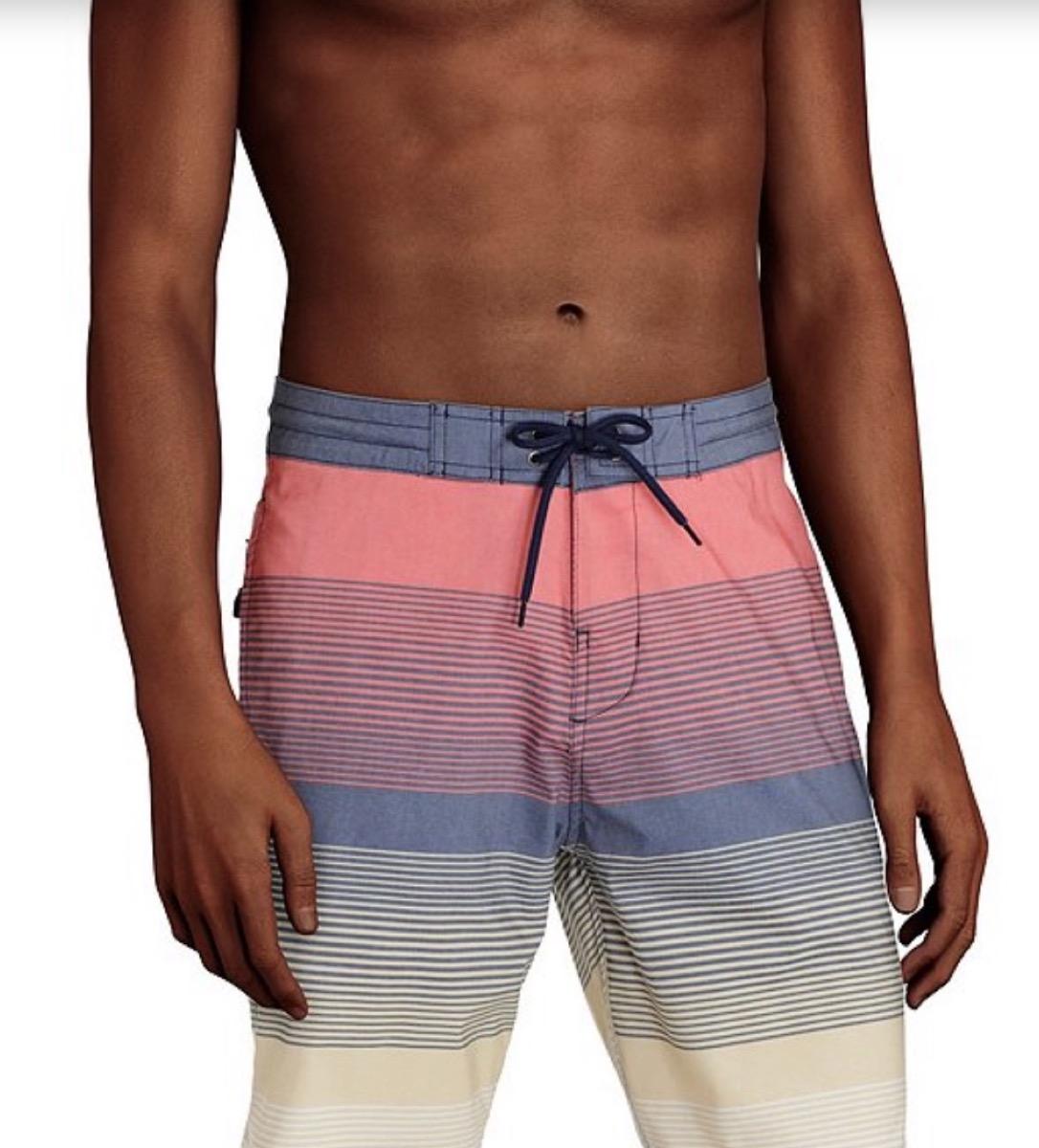 striped board shorts, cheap swimsuits
