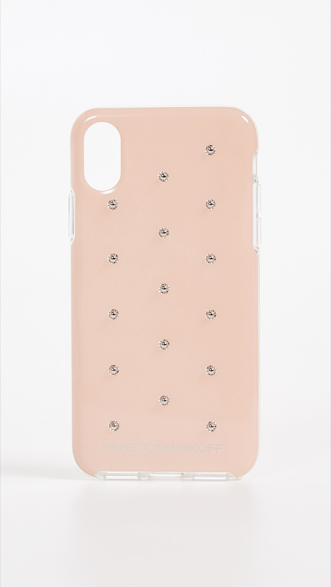 pink iphone case with studs, best gifts for girlfriend